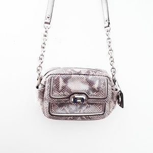 Coach | New Campbell Exotic Snake Skin Crossbody
